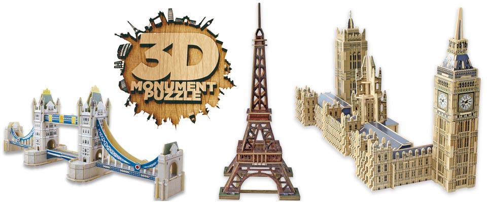 3d monument puzzle educa borras. Black Bedroom Furniture Sets. Home Design Ideas