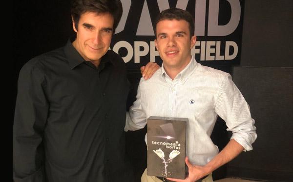El Mago David Copperfield Fascinado Con Tecnomagia Borras Educa