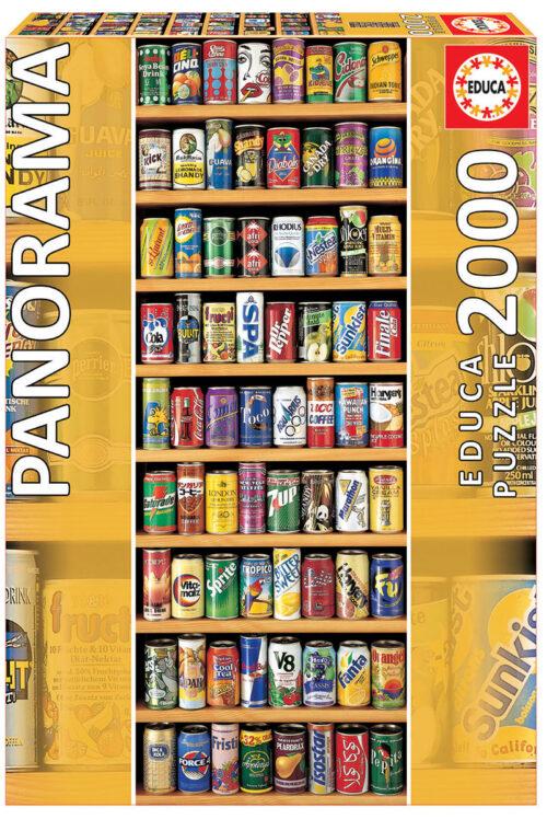 """2000 Lata sobre lata """"Panorama"""""""