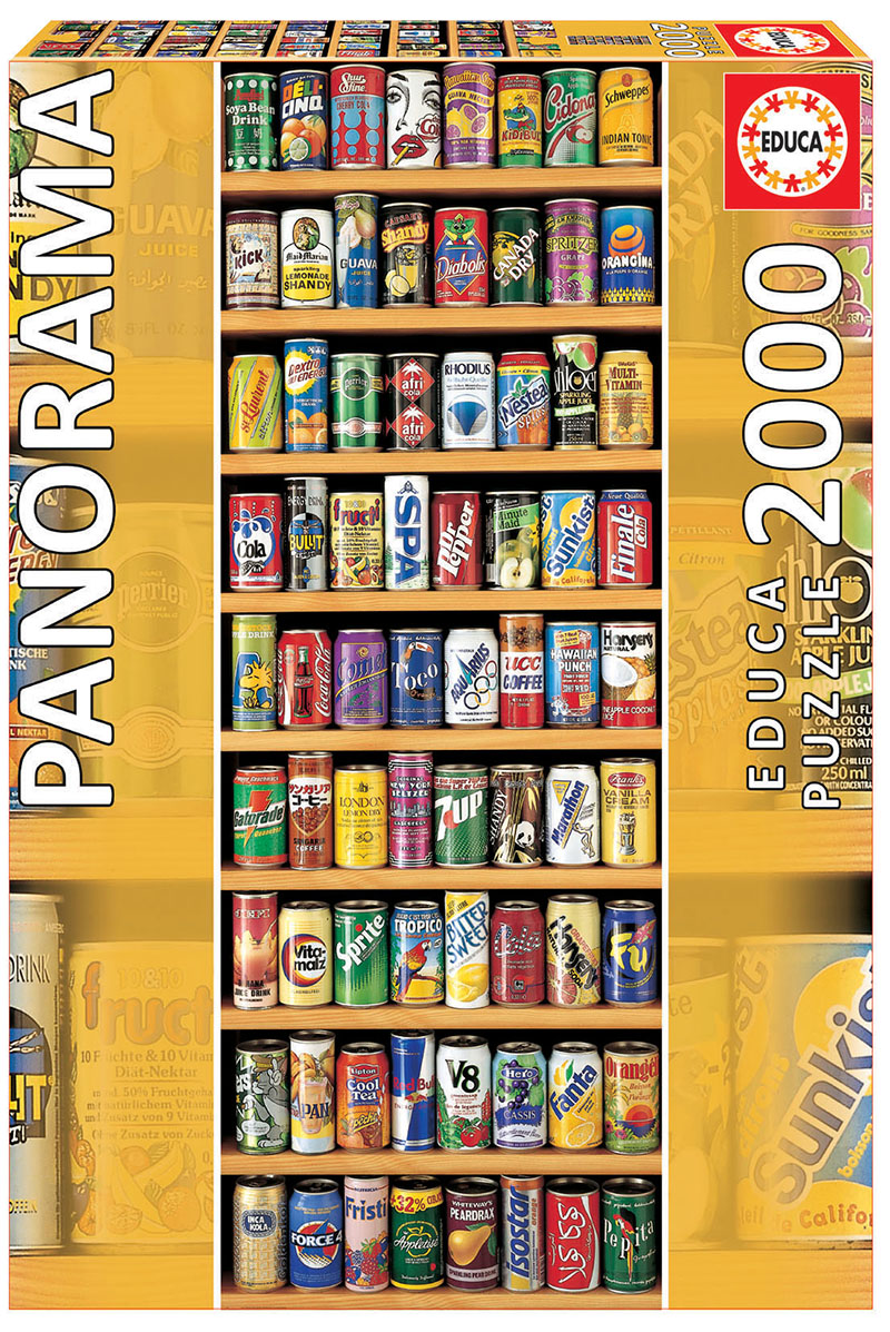2000 Soft cans « Panorama »