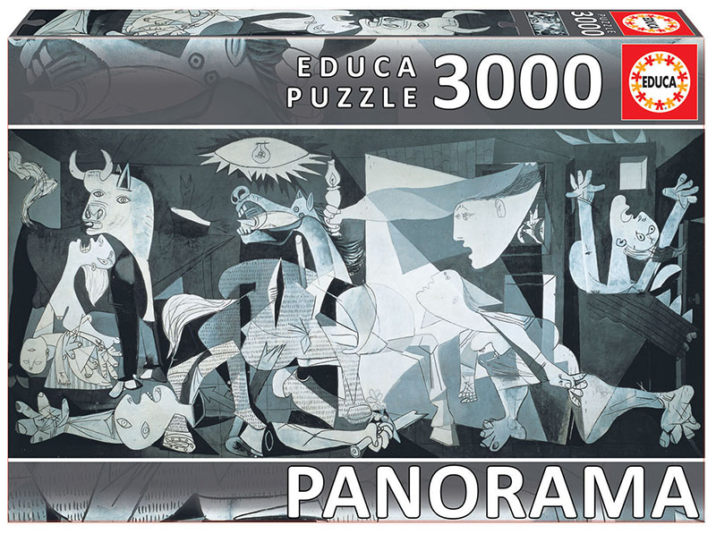 "3000 Guernica, Pablo Picasso ""Panorama"""