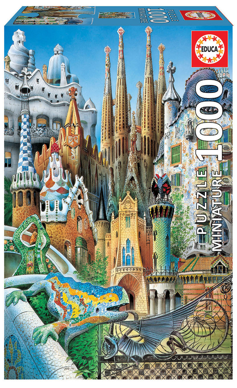 "1000 Collage Gaudí ""Miniature"""