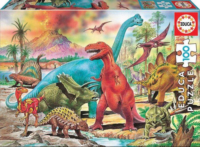 100 Dinosaurios