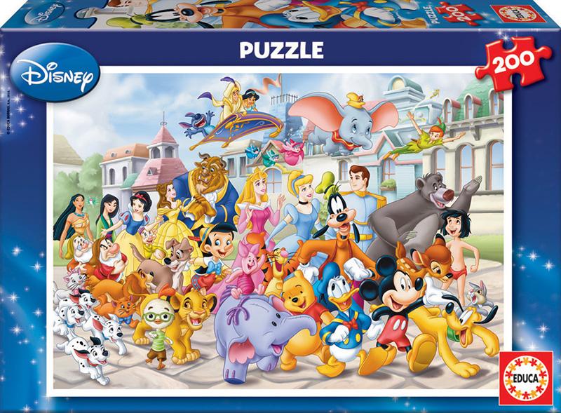 200 Disney parade