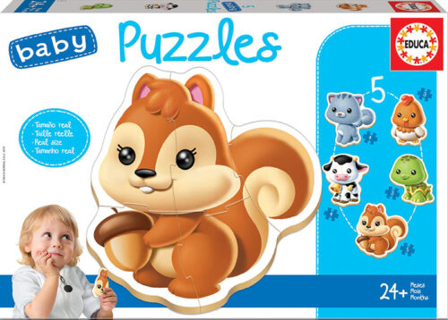 Baby Puzzles animales