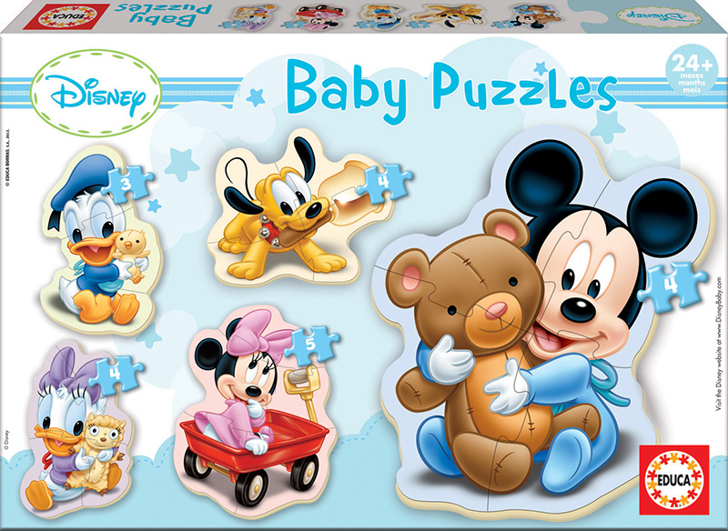 Baby Puzzles Mickey