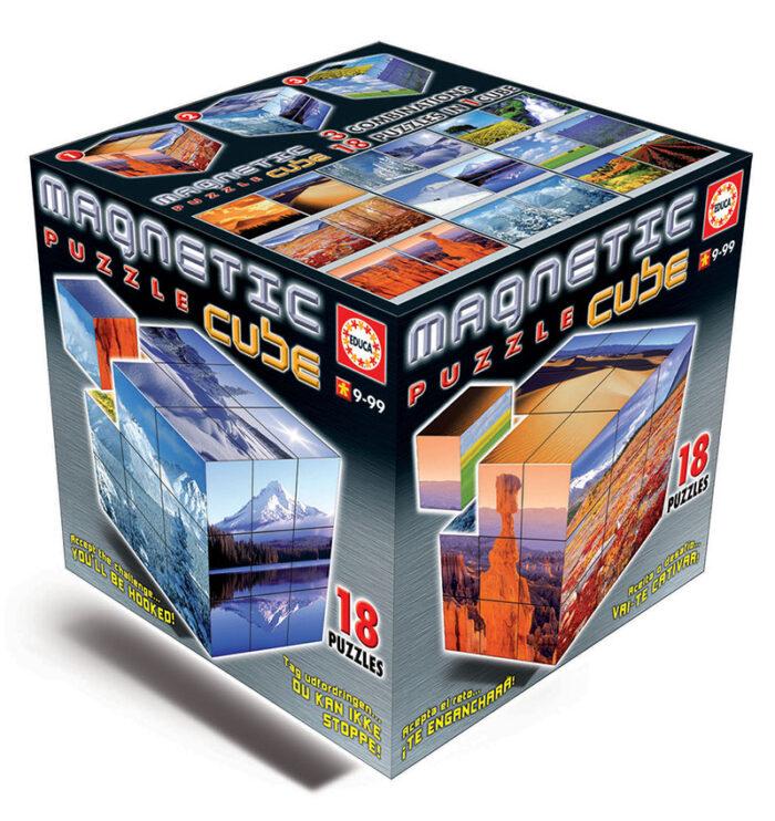 Magnetic Puzzle Cube Paisajes 27c