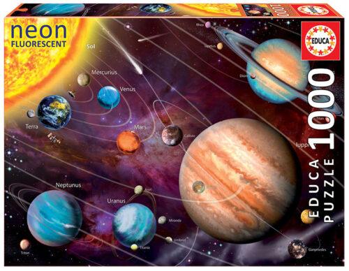 "1000 Sistema solar ""Neon"""