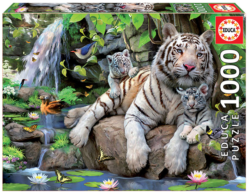 1000 White tigers of bengal