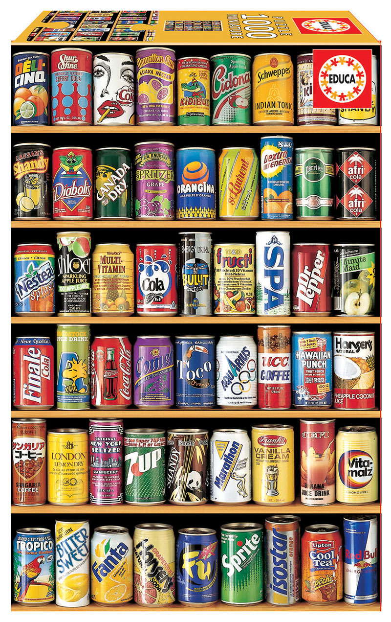 """1000 Cans """"Miniature"""""""