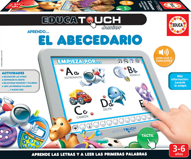 Educa Touch Junior Aprendo… El Abecedario