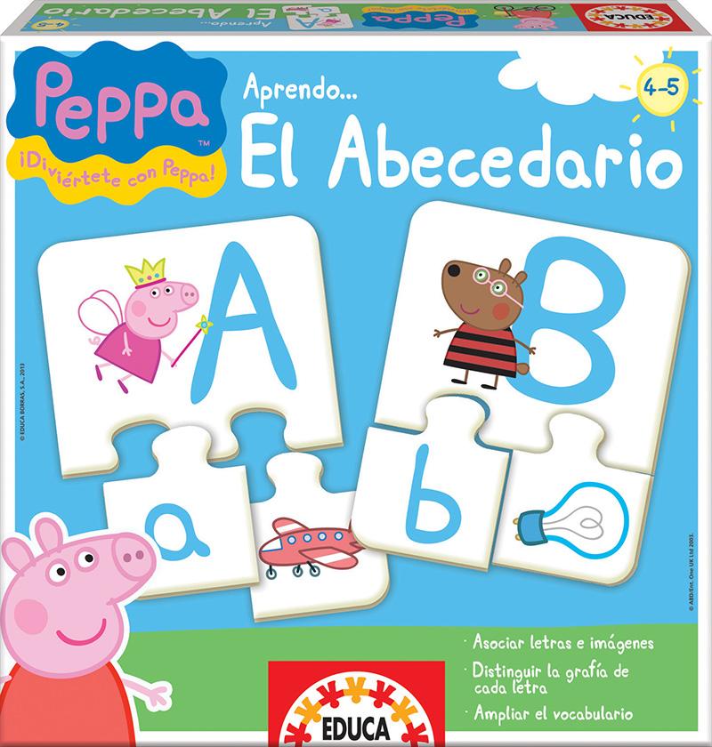 Aprendo… El Abecedario Peppa Pig