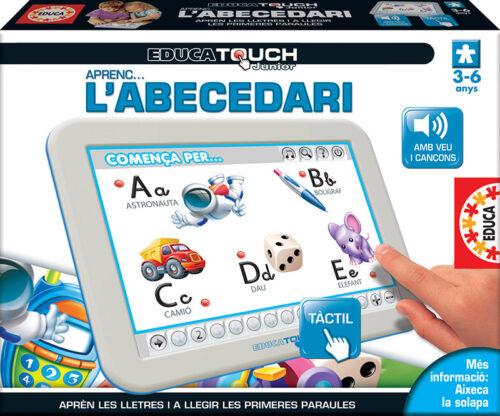 Educa Touch Junior Aprenc l´abecedari