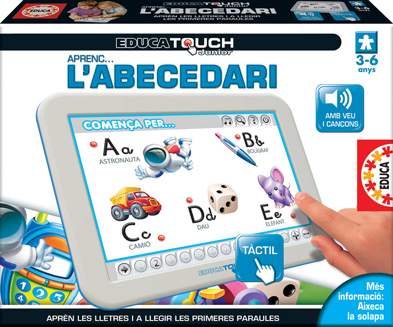 Educa Touch Junior Aprenc l´abecedari