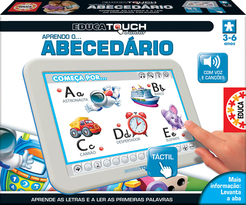 Educa Touch Junior Aprendo o Abecedário