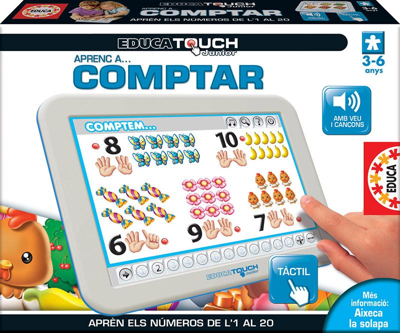 Educa Touch Junior Aprenc a comptar