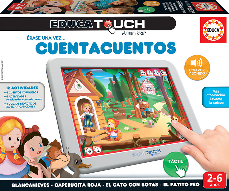 Educa Touch Junior érase una vez…cuenta cuentos