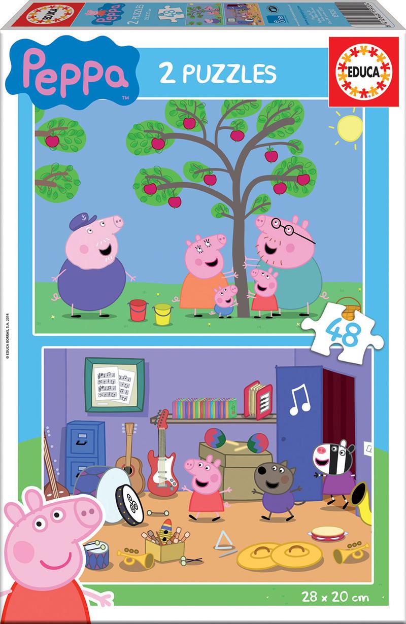 2×48 Peppa Pig