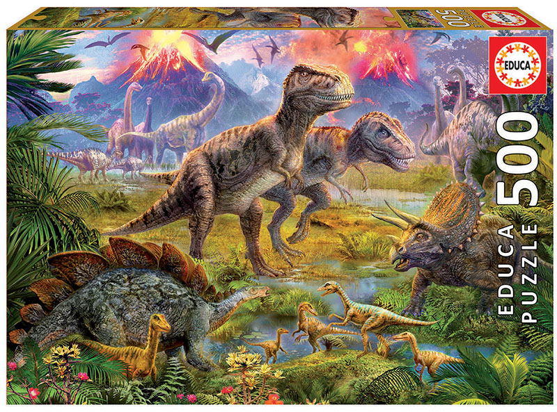 500 Dinosaur gathering