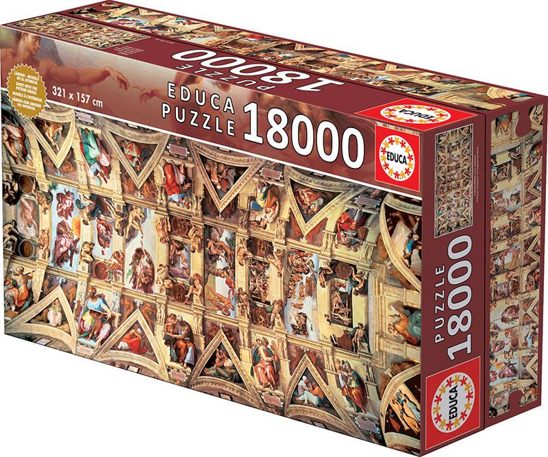 18000 Sistine Chapel