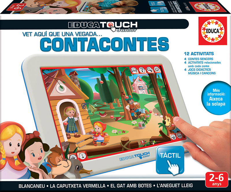 Educa Touch Junior contacontes