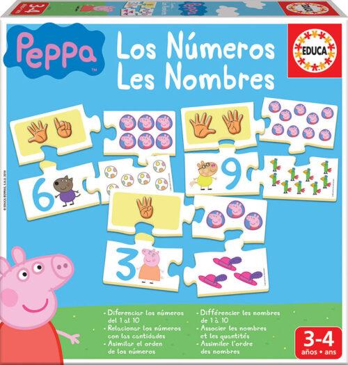 Aprendo... Los números Peppa Pig