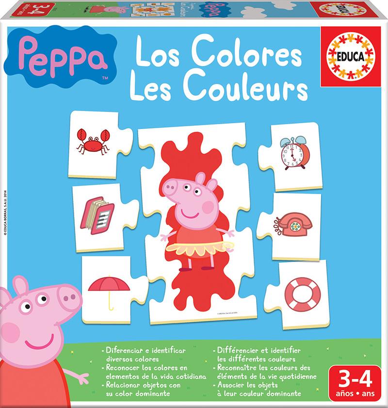 Aprendo… Los colores Peppa Pig
