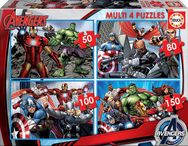 Multi 4 Avengers 50+80+100+150