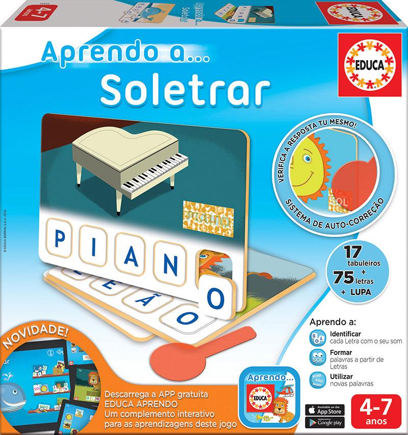 Aprendo a… Soletrar (com App)