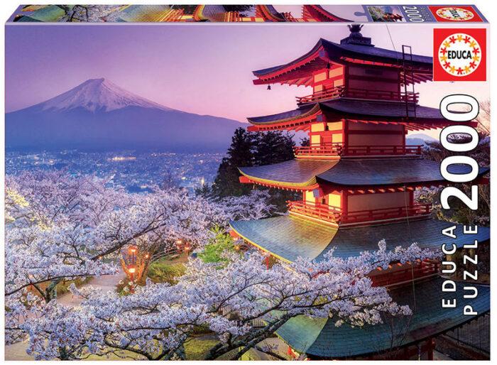 2000 Monte Fuji, Japón