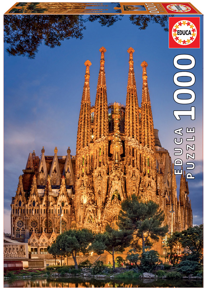1000 Sagrada Familia