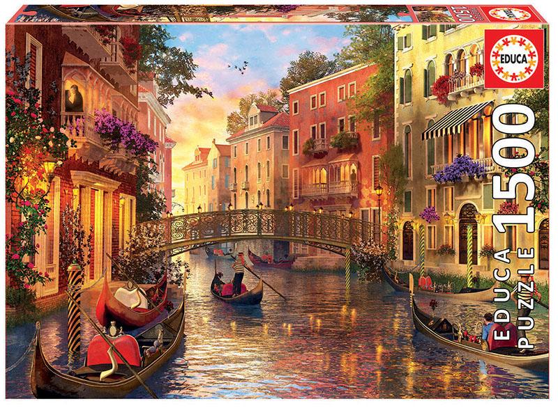 1500 Coucher de soleil a Venise