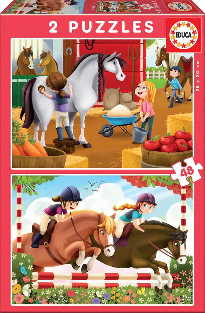 2x48 Cuidando caballos