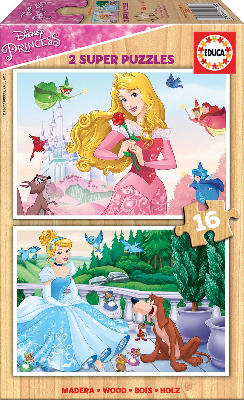 2×16 Princesas Disney