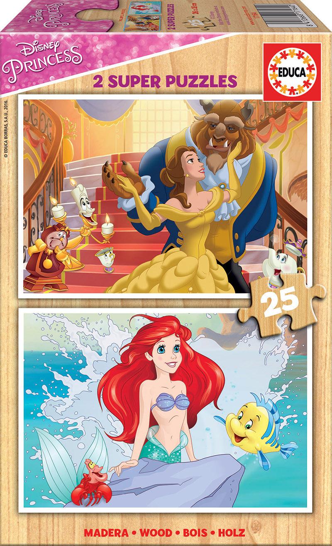 2×25 Princesas Disney