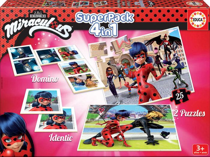 Superpack Prodigiosa: Las Aventuras de Ladybug