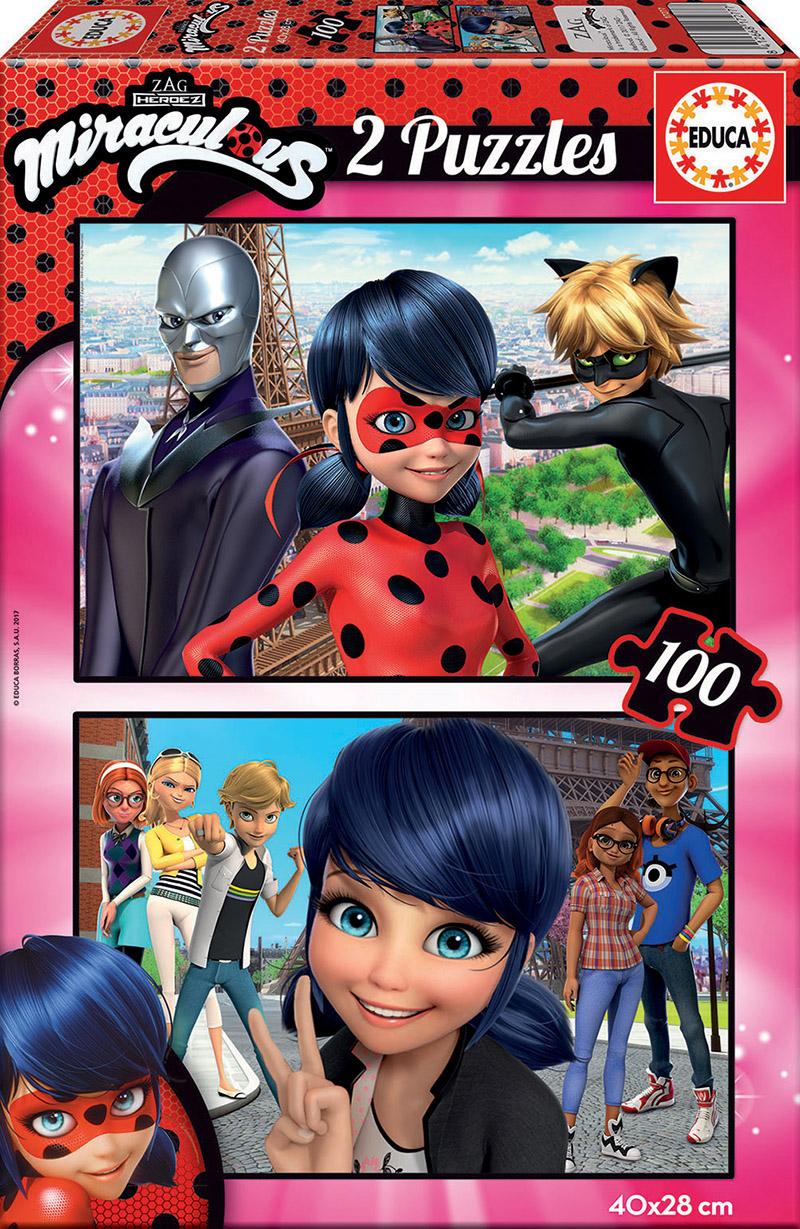 2×100 Miraculous – As Aventuras de Ladybug