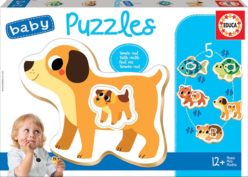 Baby Puzzles Animals domèstics
