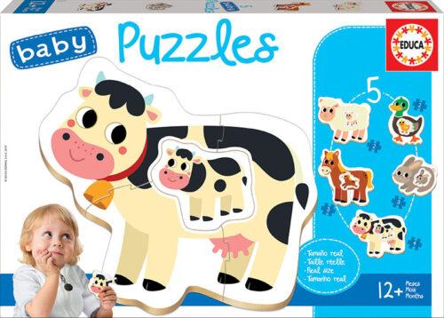 Baby Puzzles Animales de la granja