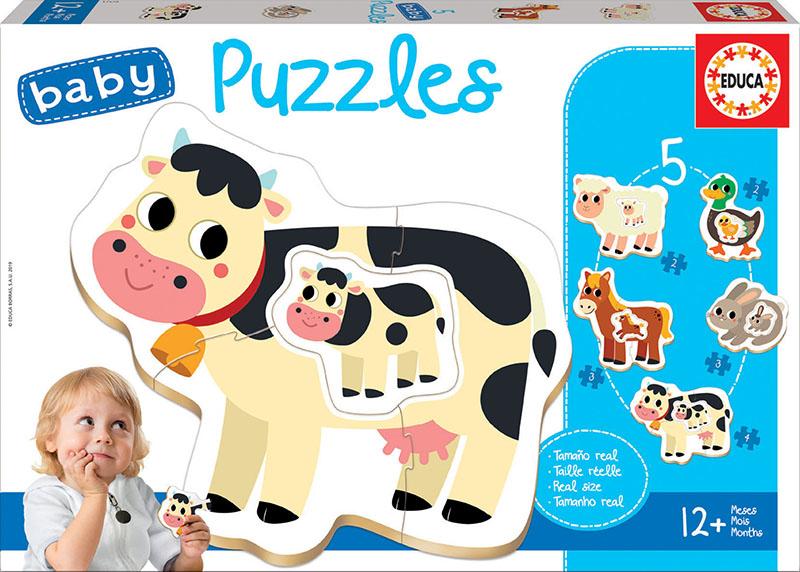 Baby Puzzles La Ferme