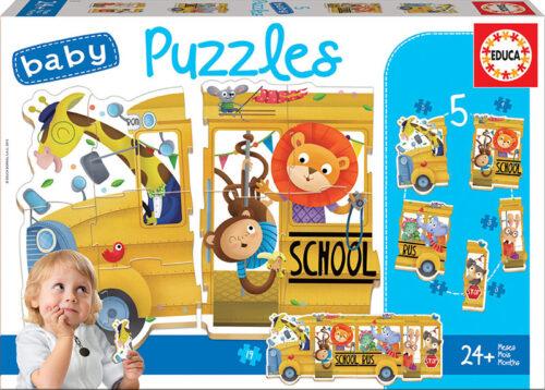 Baby Puzzles Bus de animalitos