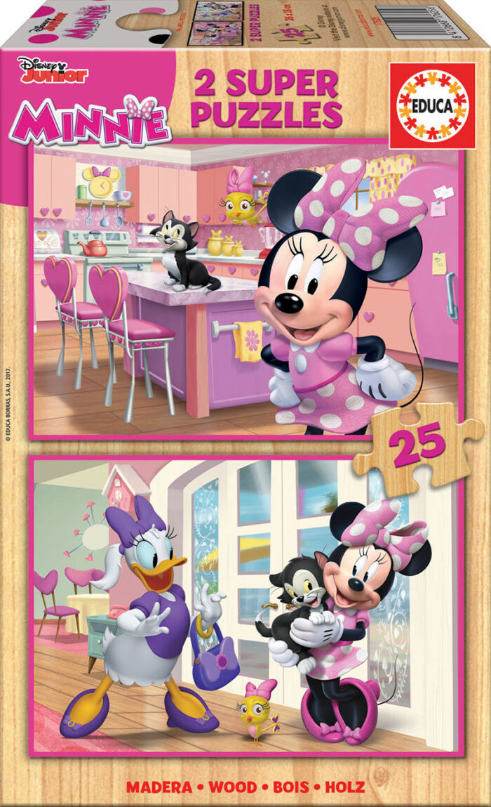 2x25 Minnie Ayudantes Felices