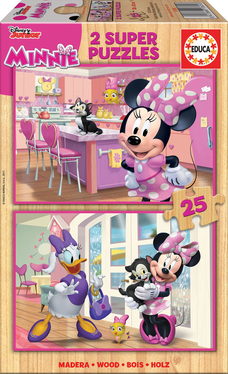 2×25 Minnie Happy Helpers