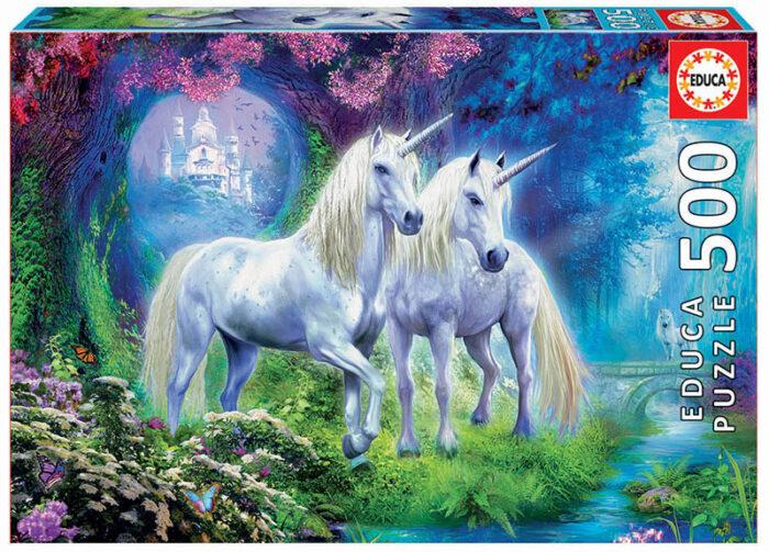 500 Unicornios en el bosque