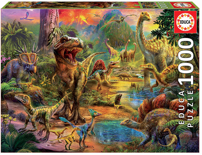1000 Land of dinosaurs
