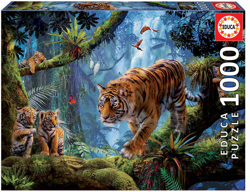 1000 Tigers in the tree