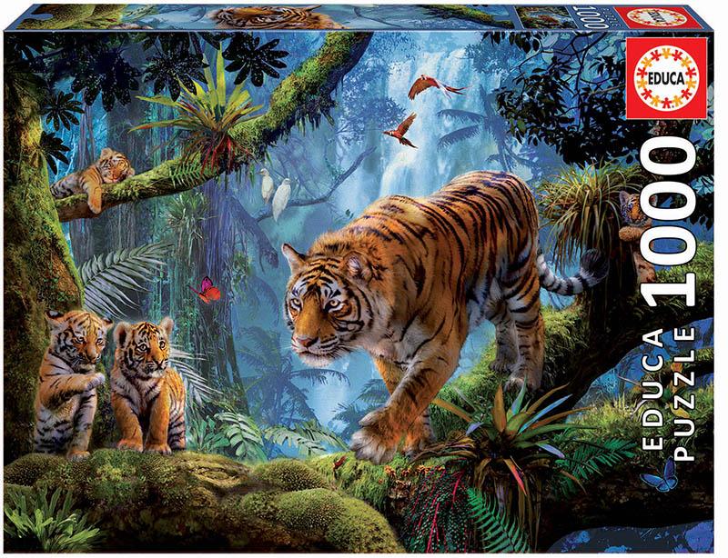 1000 Tigres en el árbol