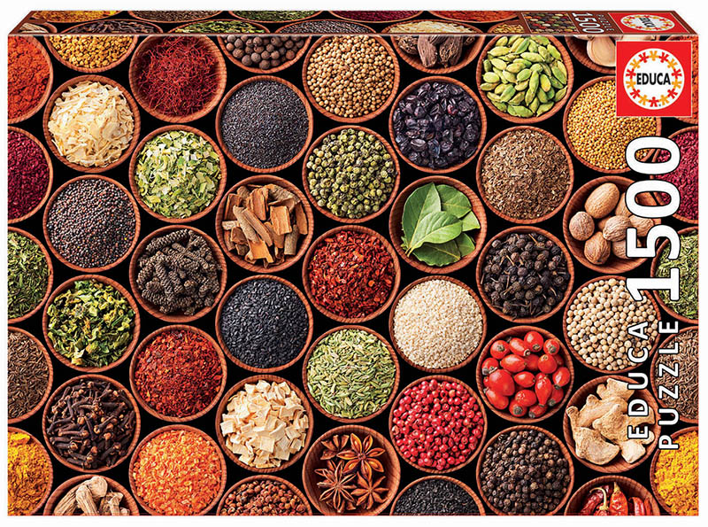 1500 Herbs and spices