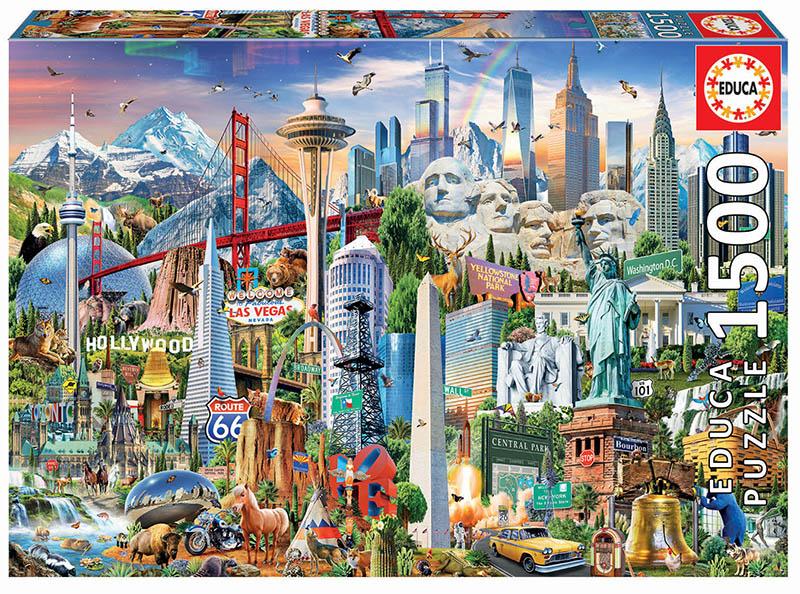 1500 Símbolos de Norte-América