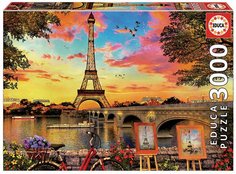3000 Puesta de sol en París